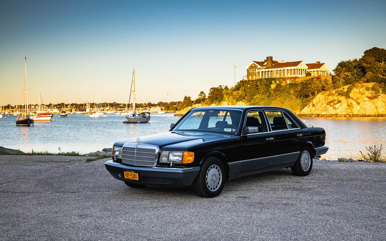 Mercedes-Benz S-Class W126 1985-1991 OEM Air Filter Filtration System Part