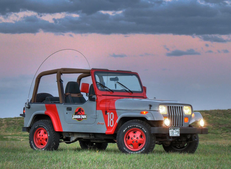 Jeep Wrangler YJ Jurassic Park Edition