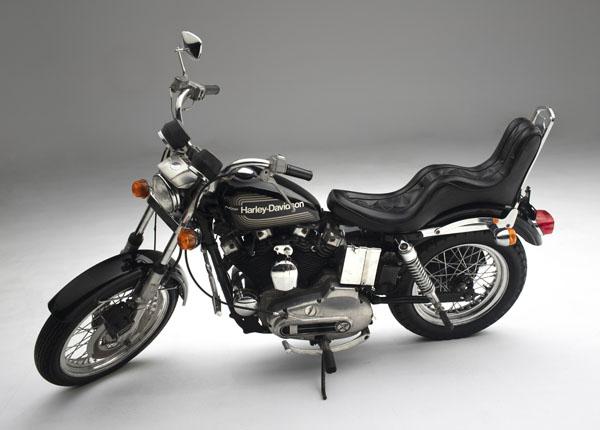 Elvis Presley's 1976 Harley-Davidson XLK Sportster 1000