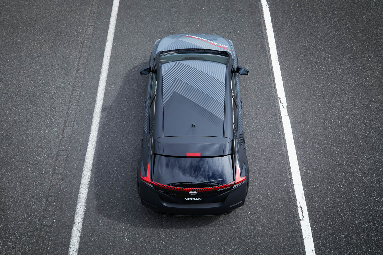 Twin-motor, AWD Nissan test car turns a new Leaf thumbnail