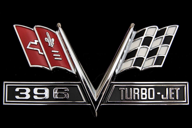 Corvette Turbo-Jet badge
