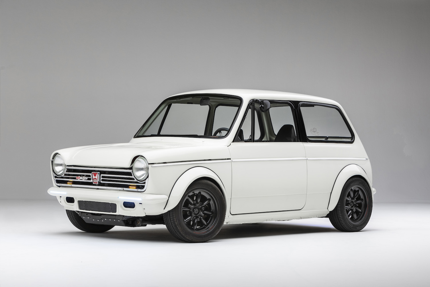 This Honda N600 has a motorcycle engine that revs to the moon thumbnail