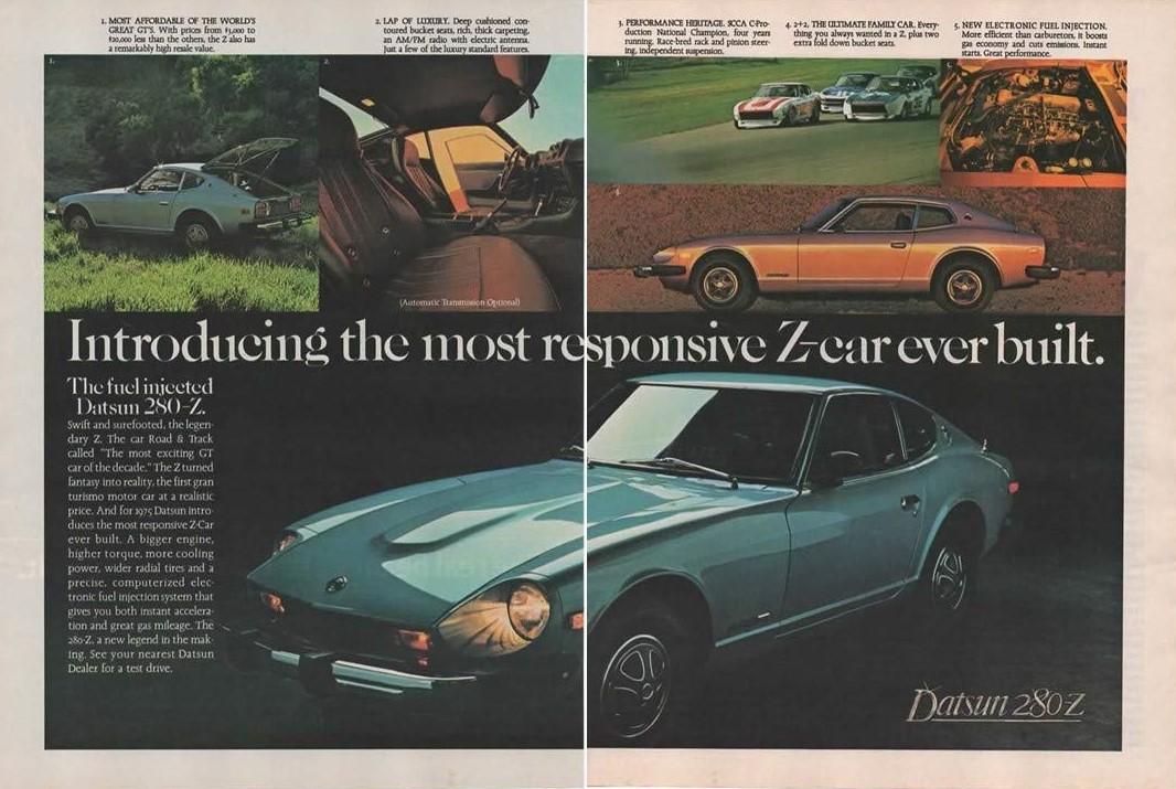 Datsun Z advertisement