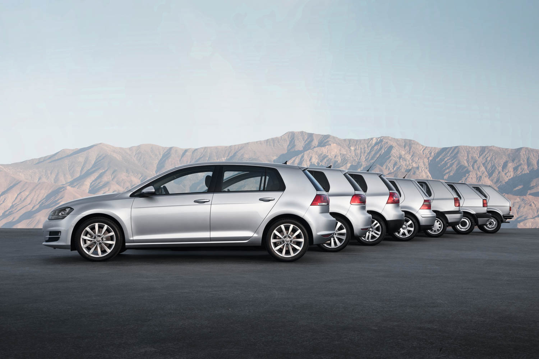 VW Golf range