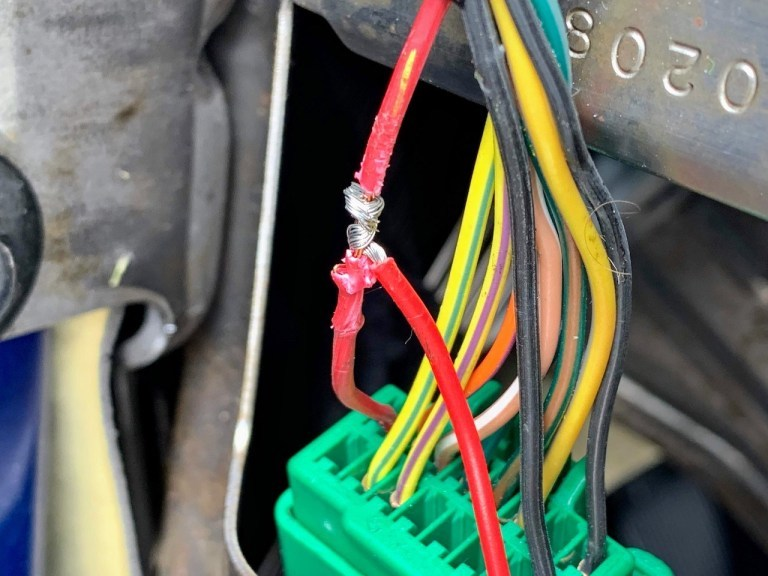 Car Security Wiring