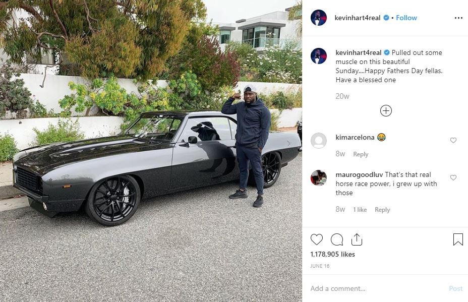 Kevin Hart is back behind the wheel, in a '69 Camaro thumbnail
