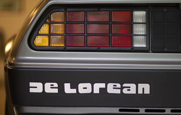 1982 DMC12 Delorean Car