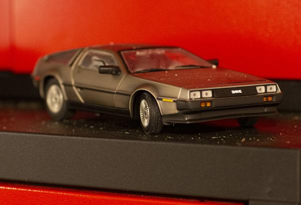 DeLorean DMC12 Scale Model