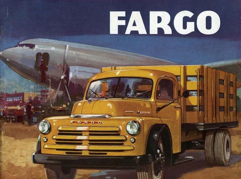 Vintage Fargo Truck Ad