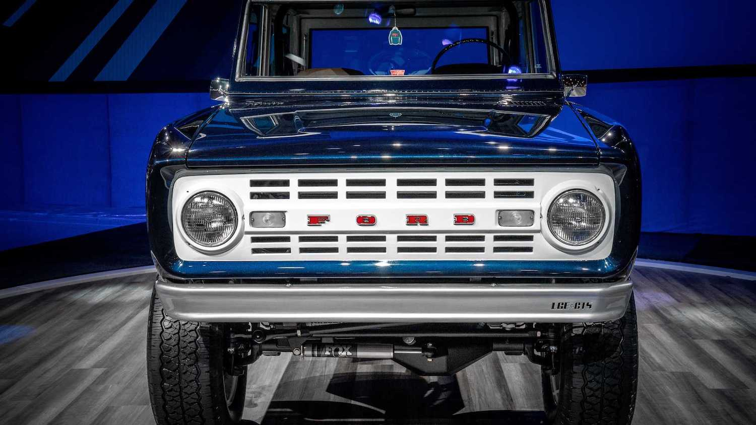 Jay Leno Ford Bronco Restomod