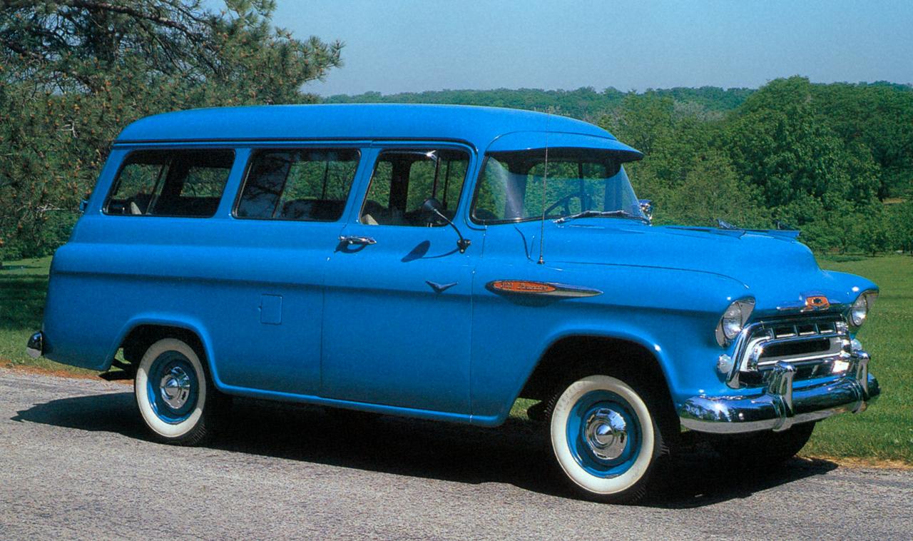 1957 Chevrolet 3100 Suburban Carryall