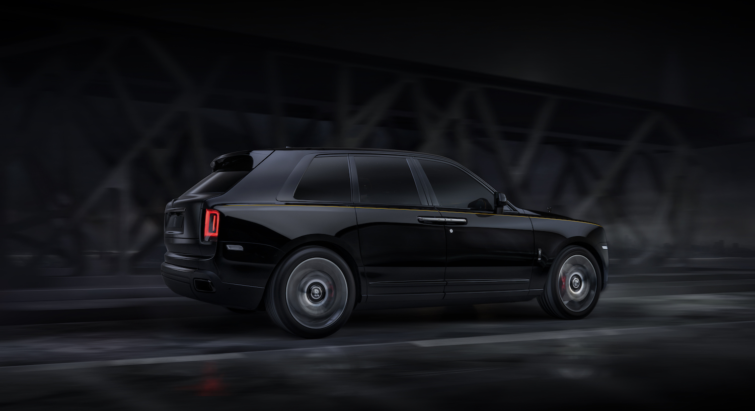 The Rolls-Royce Black Badge Cullinan is $382K of Dark Knight SUV thumbnail