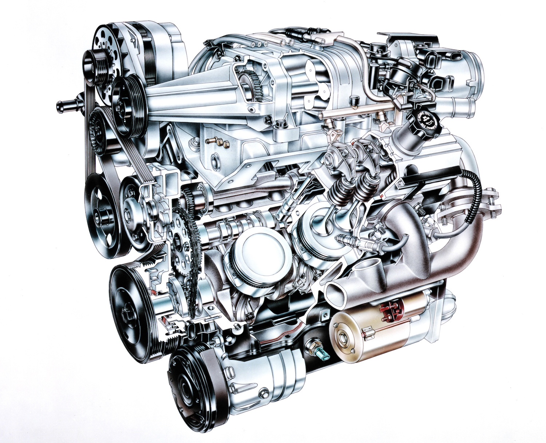 Supercharged 3800SC V-6
