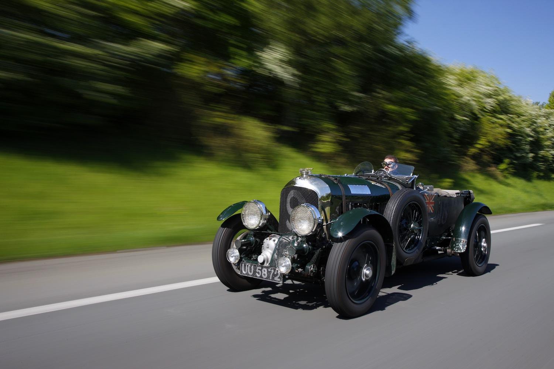 Supercharged 4.5-liter Bentley