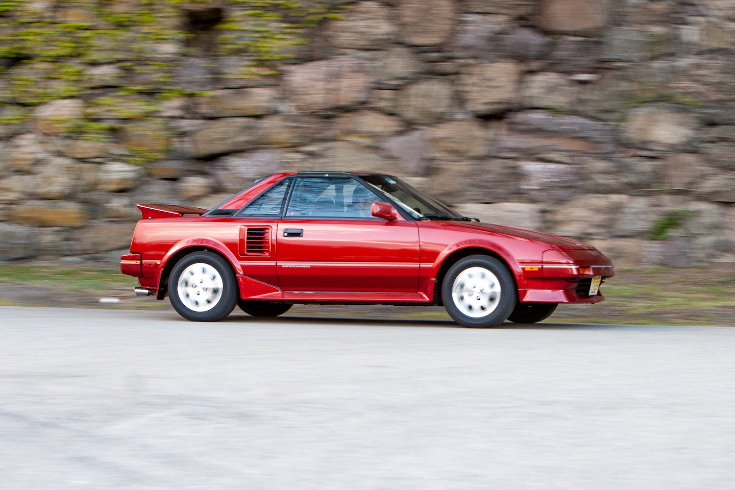 Supercharged Toyota MR2