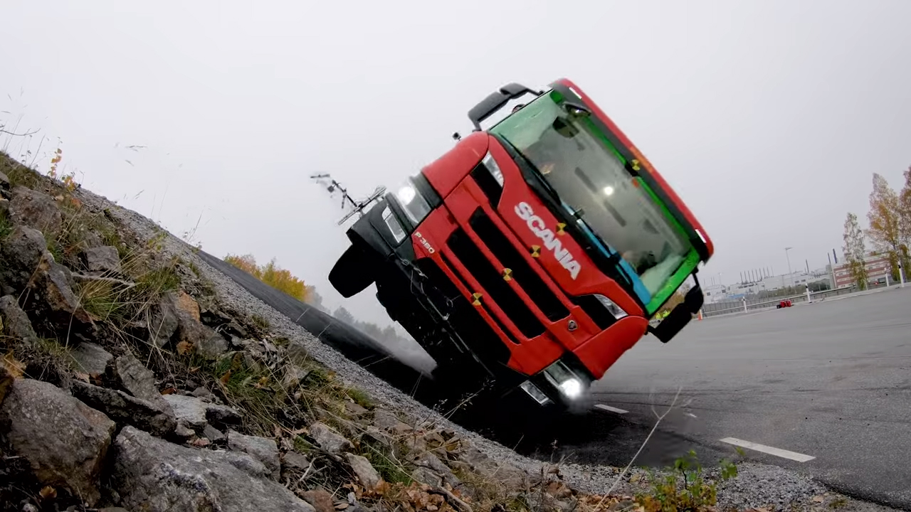 Scania's truck crash tests are intense thumbnail