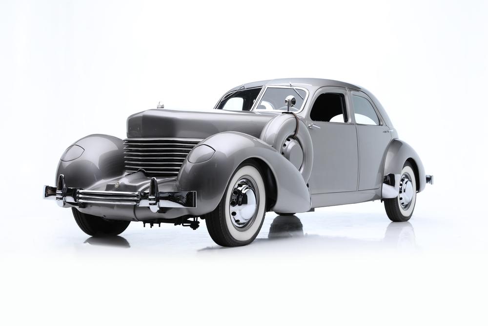 1937 Cord 812 Custom Beverly Armored Sedan