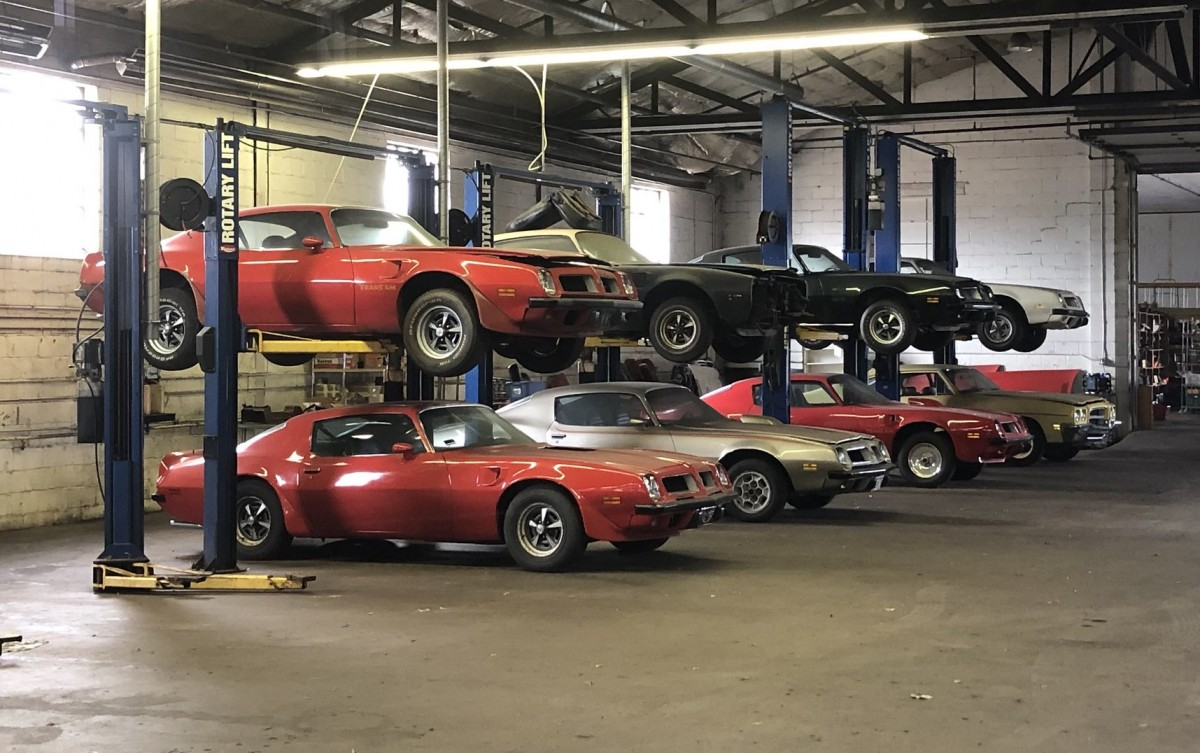 9 mid-'70s Trans Am barn-find muscle cars for sale thumbnail