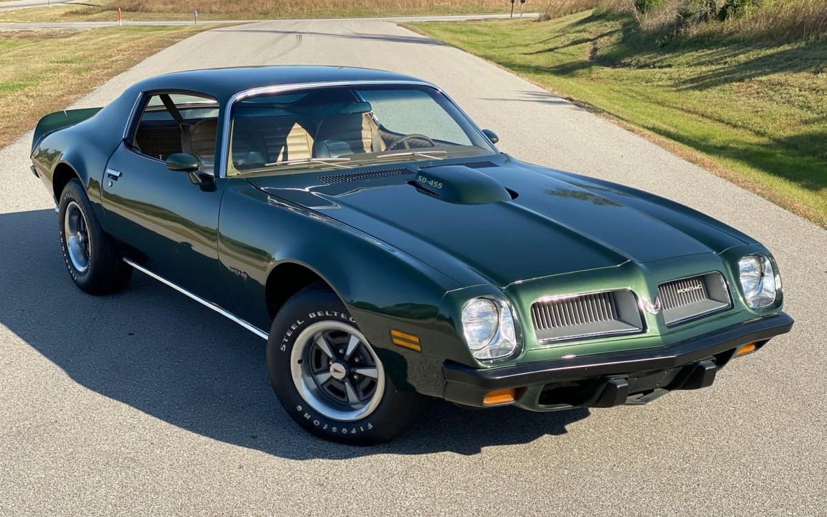 1974 Pontiac Formulad 455 SD