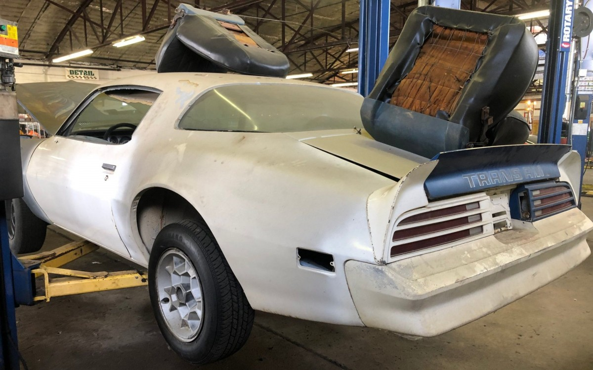 1975 Pontiac Trans Am Project Car