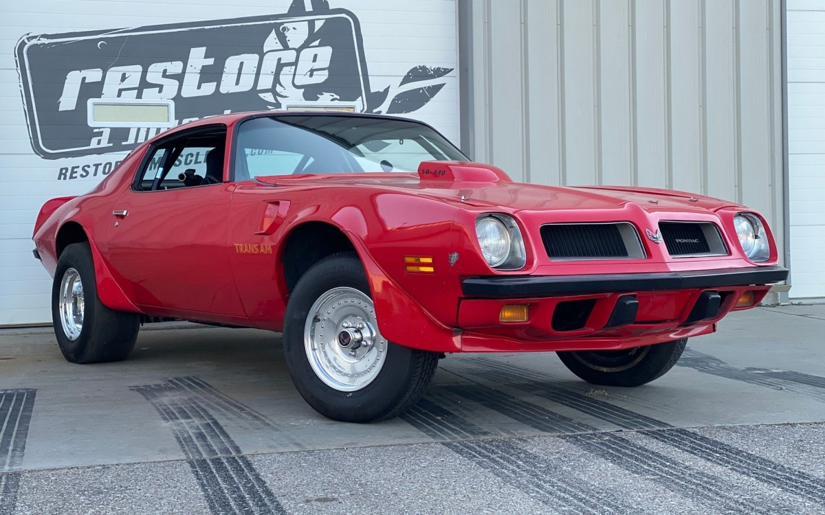Jim Wangers 1974 Pontiac Trans Am Drag Car