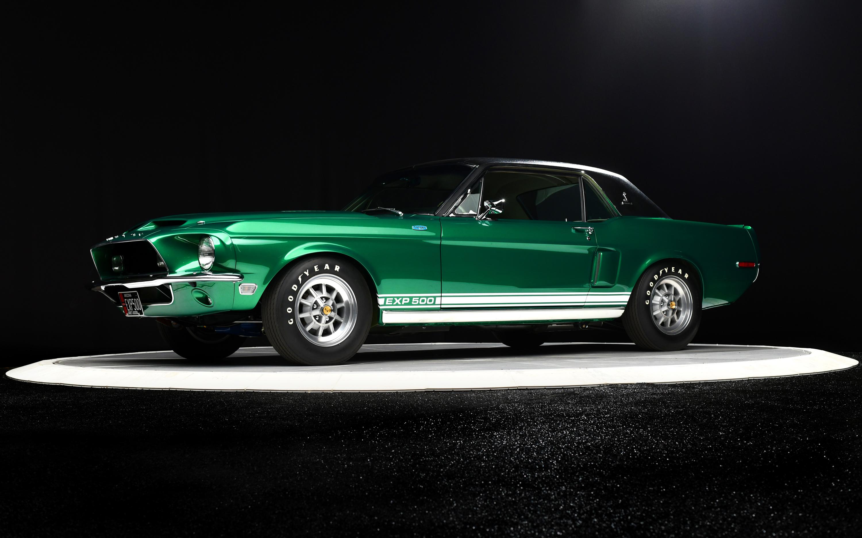 "1968 Ford Mustang ""Green Hornet"" Prototype"