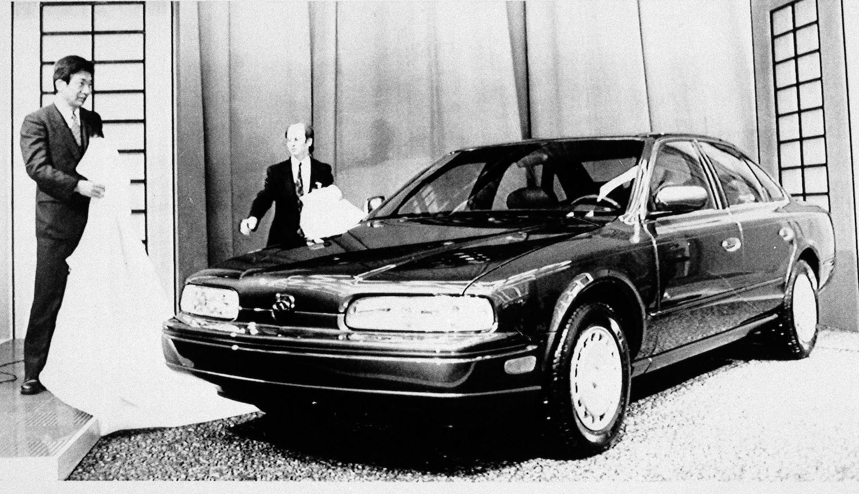 1990 Infiniti Q45 Reveal