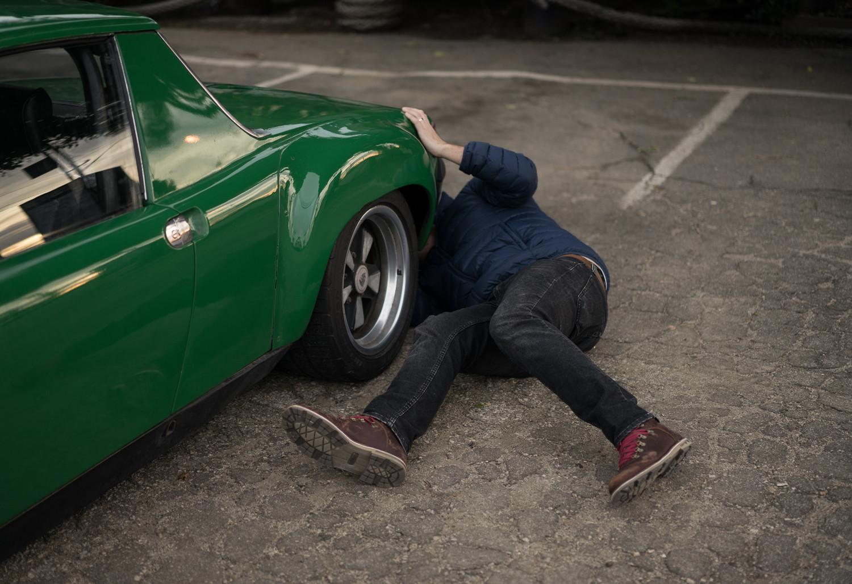 Porsche 914 work