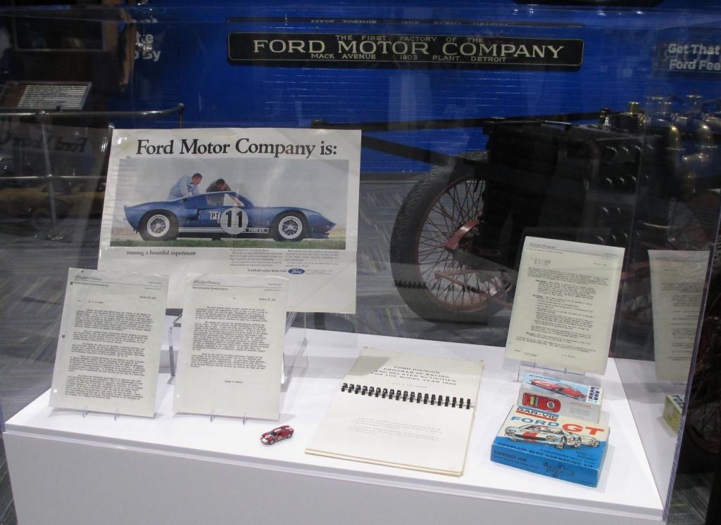 Ford Motor Company Racing Display