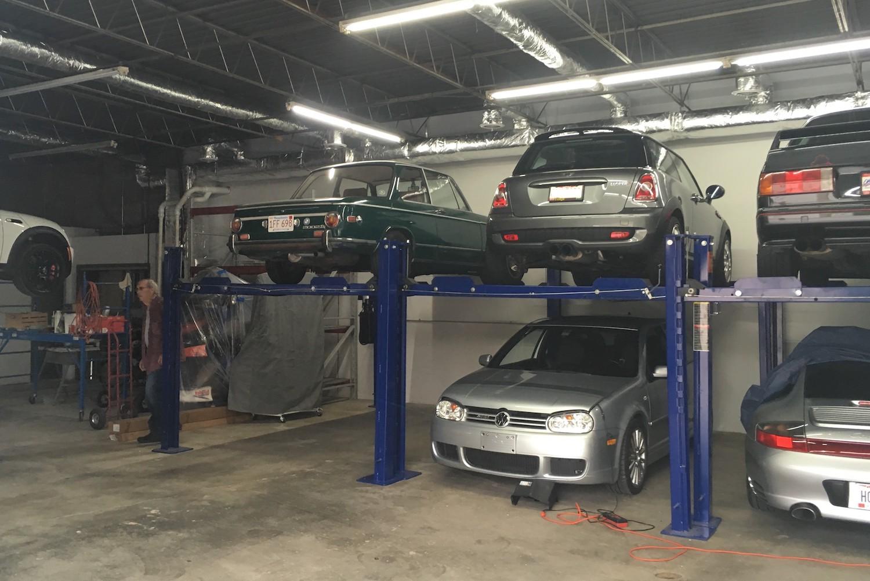 2002tii BMW Stored