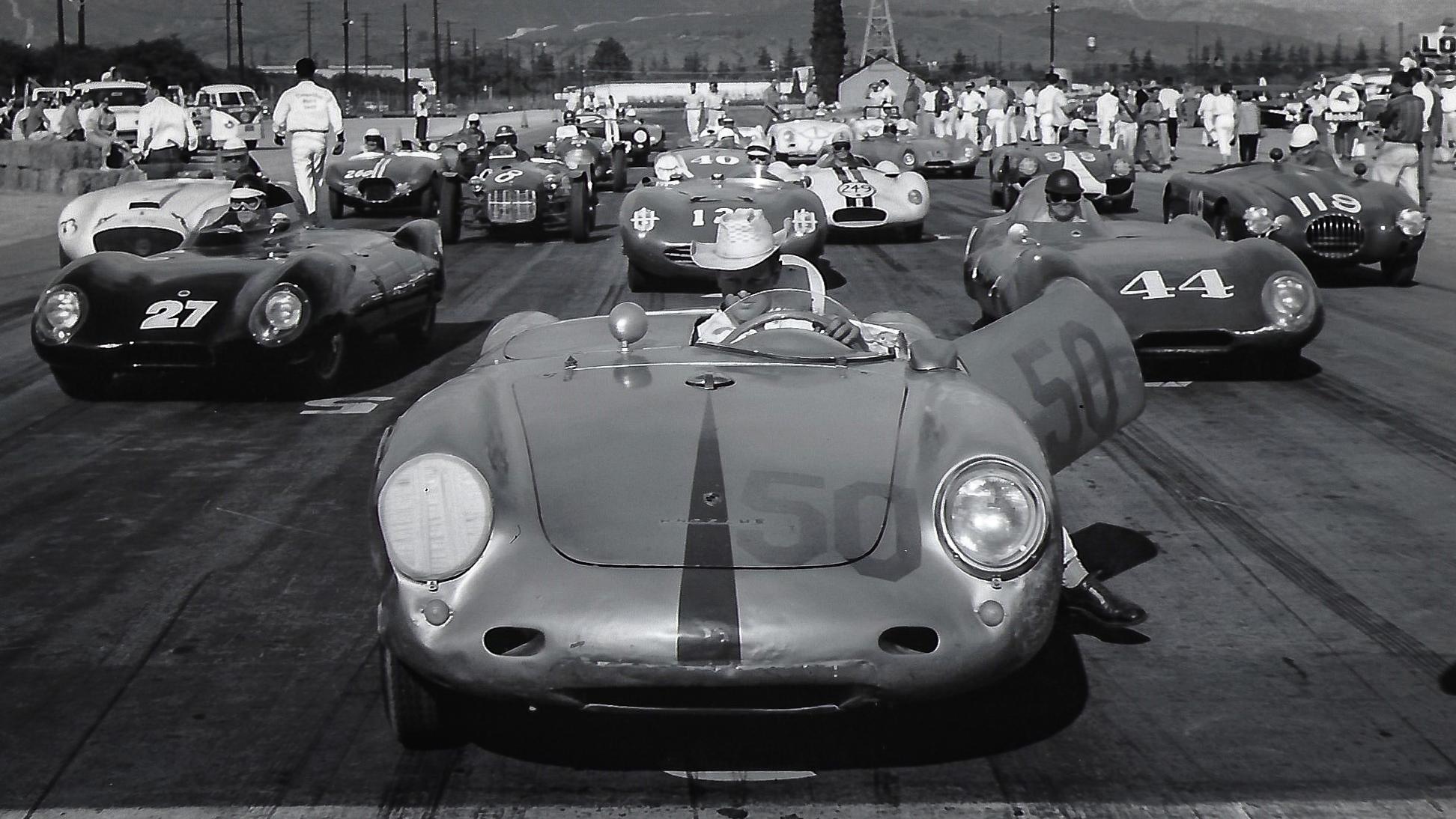 1957 Pomona Starting Line