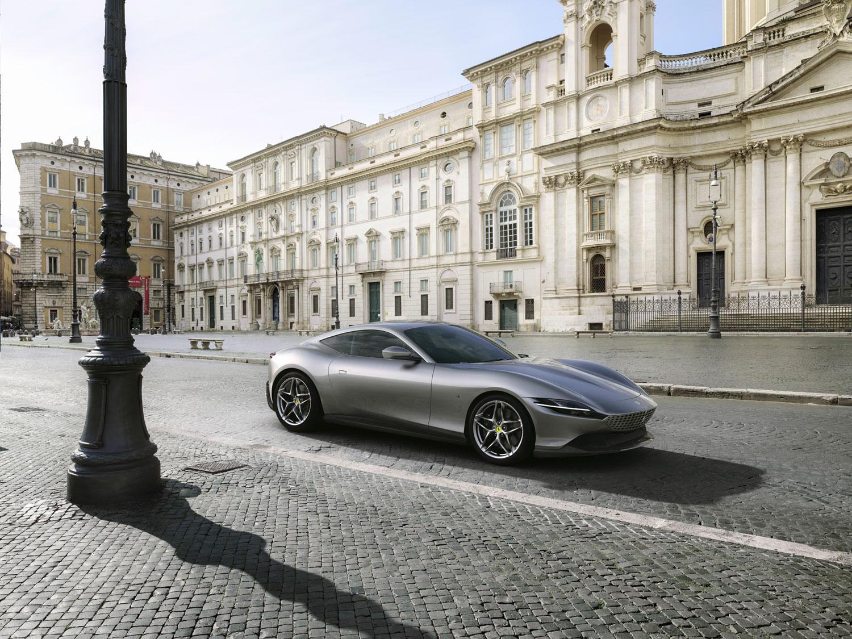 Behold the Roma, Ferrari's newest V-8 coupe thumbnail