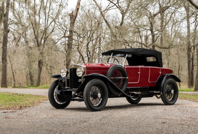 1924 Fiat 519S Torpedo Sport Speciale Convertible