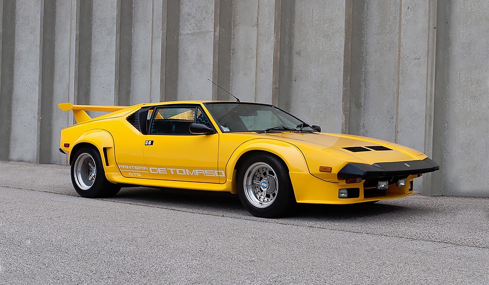 1985 De Tomaso Pantera GT5