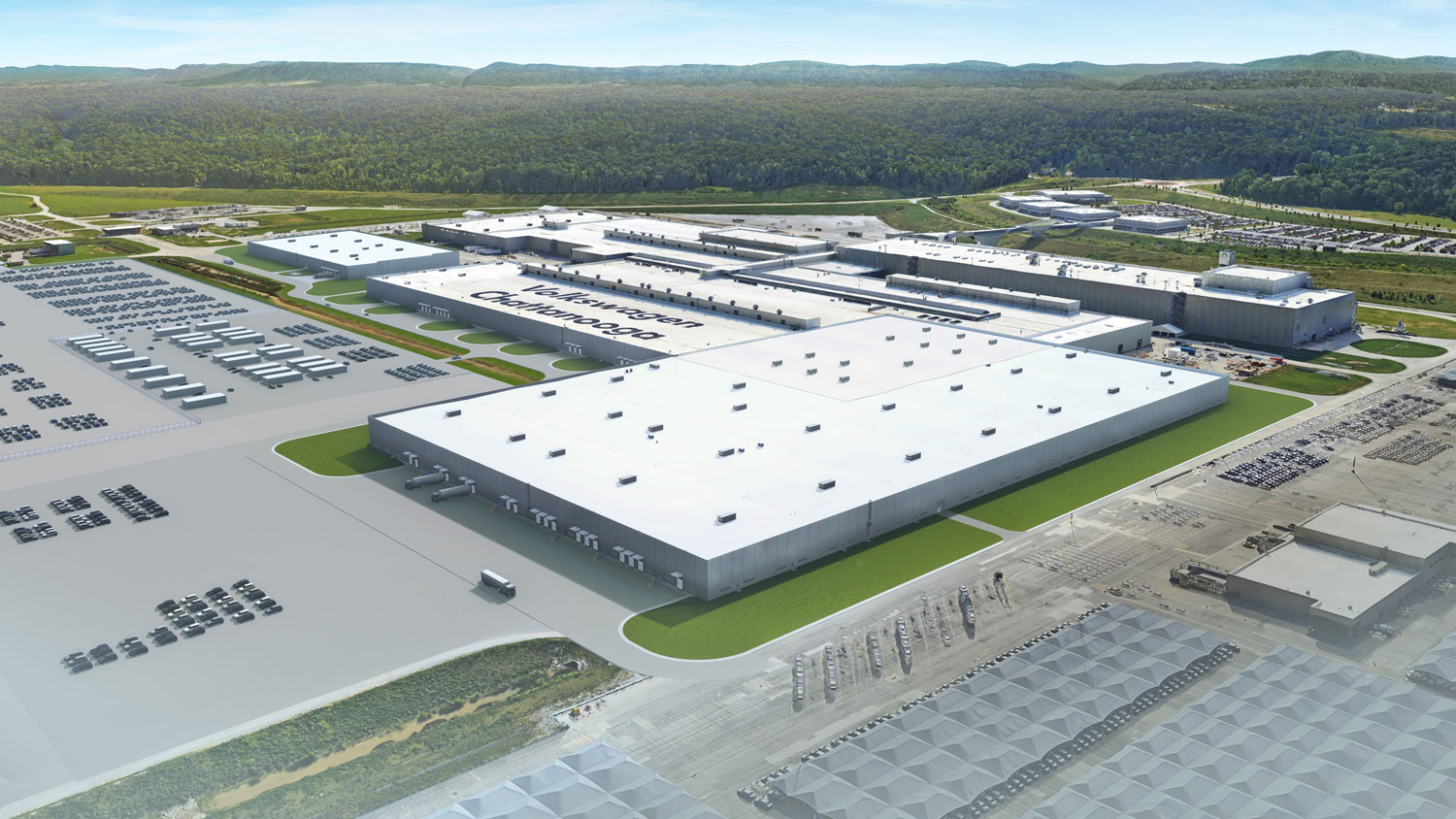 Volkswagen breaks ground on Chattanooga expansion, including battery plant thumbnail