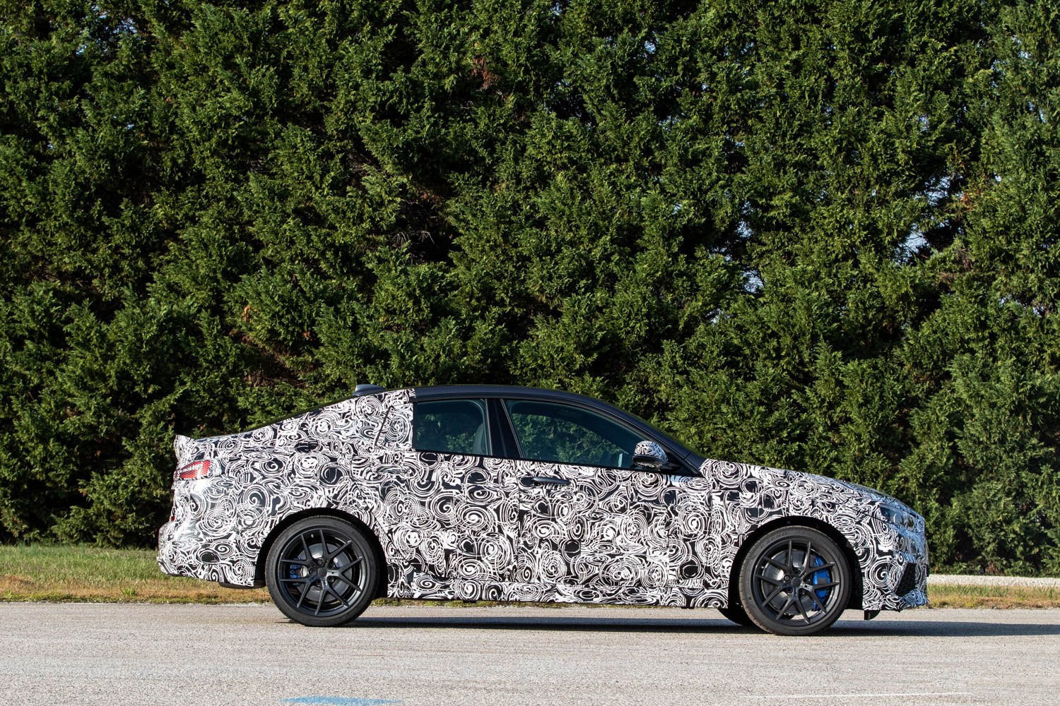 BMW M235i xDrive Prototype profile