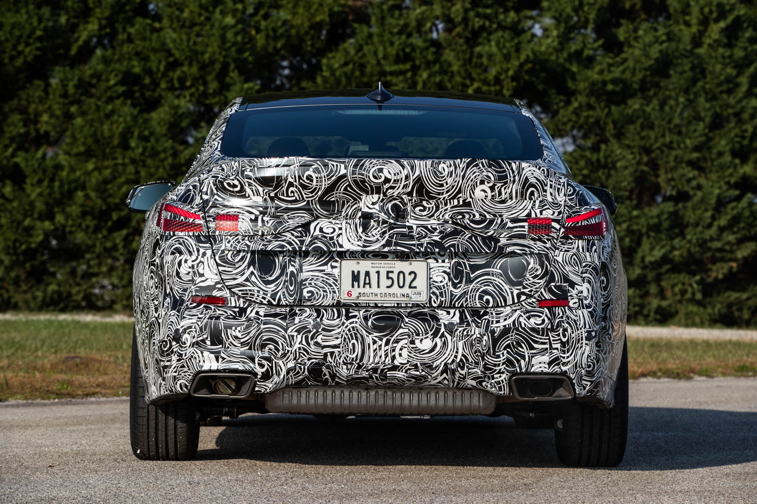 BMW M235i xDrive Prototype rear