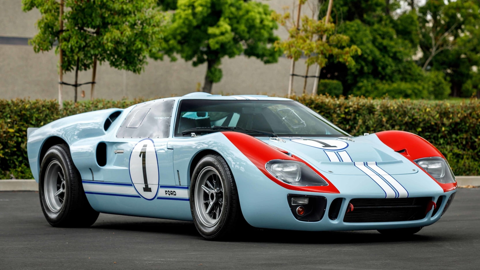 Ford v Ferrari GT40 hero car headed to Mecum auction thumbnail
