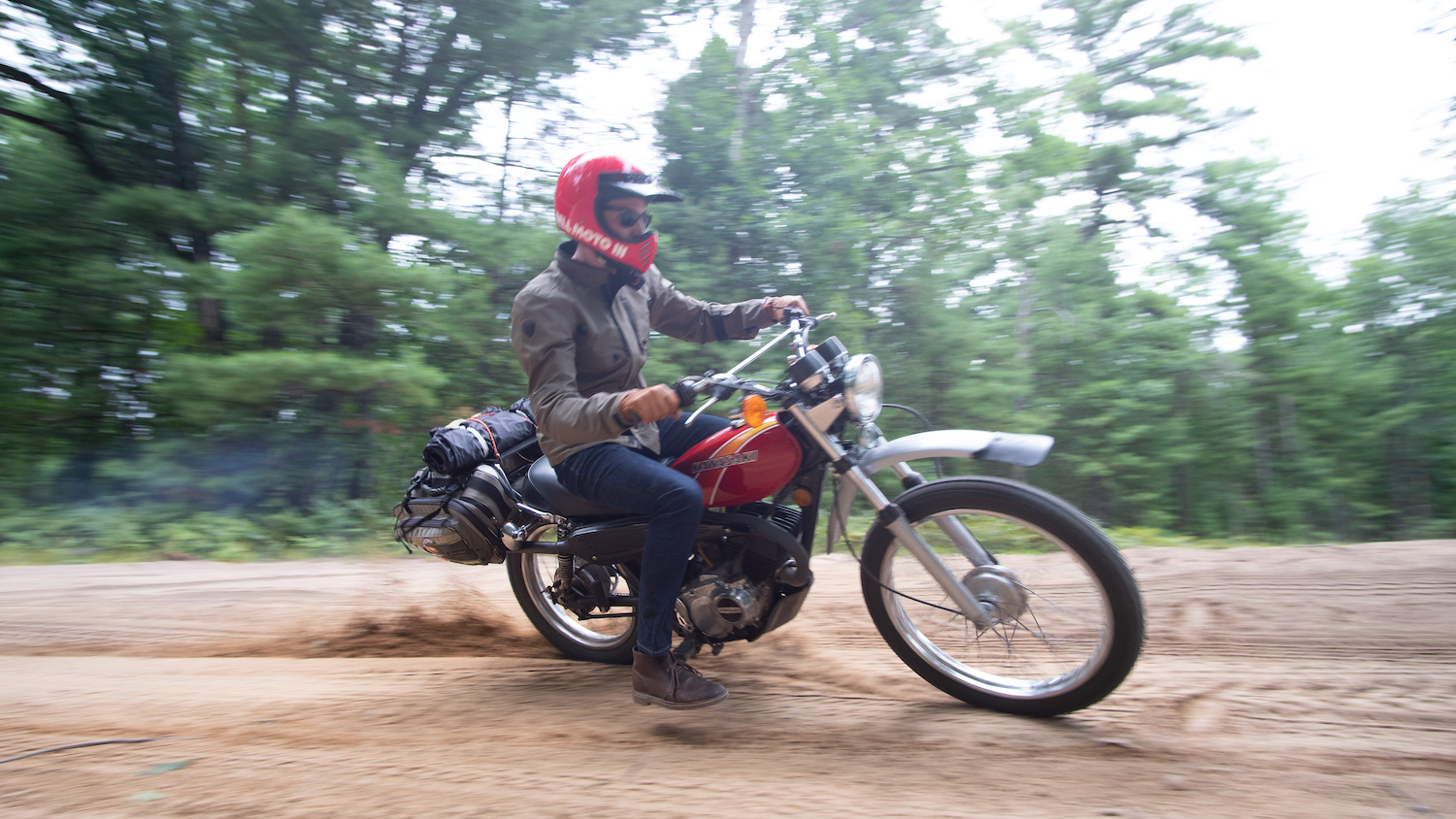 A 42-year-old Kawasaki is the best way to escape real life