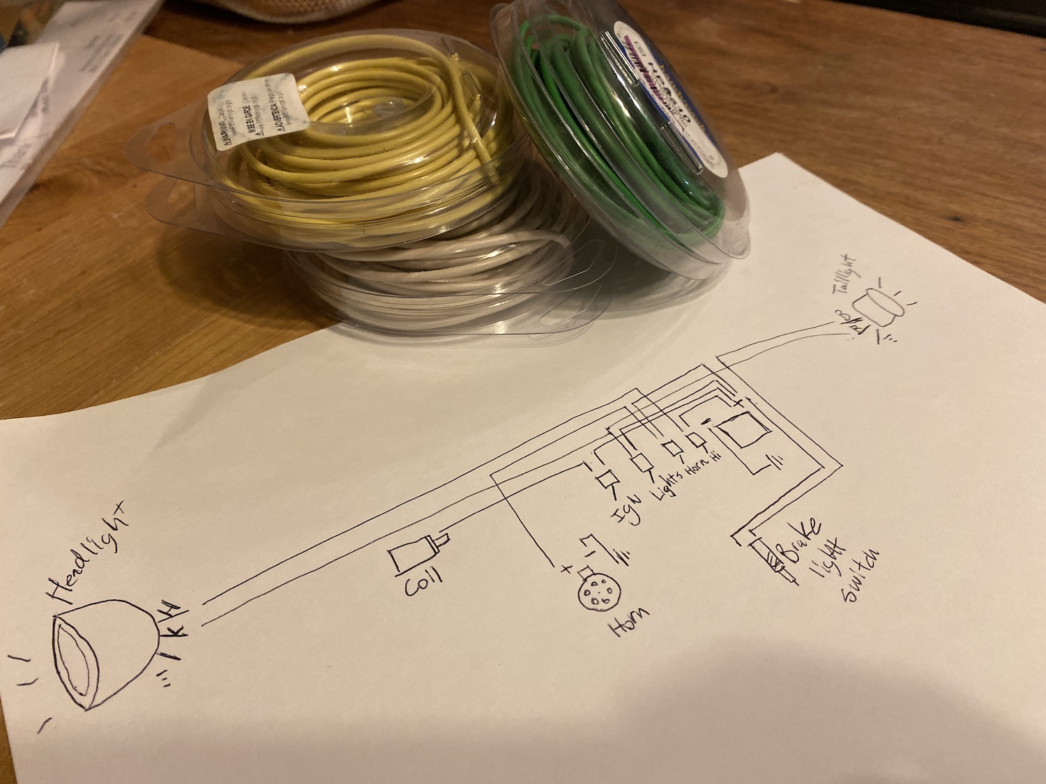 Wiring Harness First Draft Plan