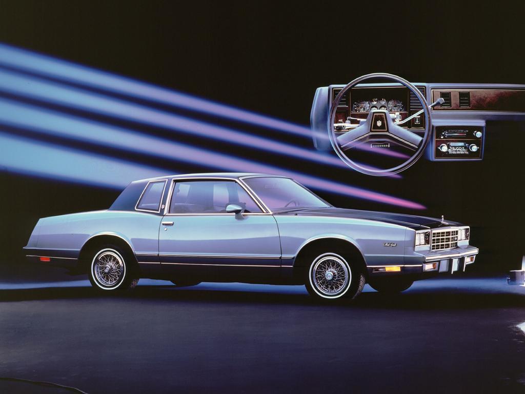 1985 Chevrolet Monte Carlo Sport Coupe