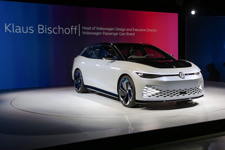 VW ID vizzion car debut