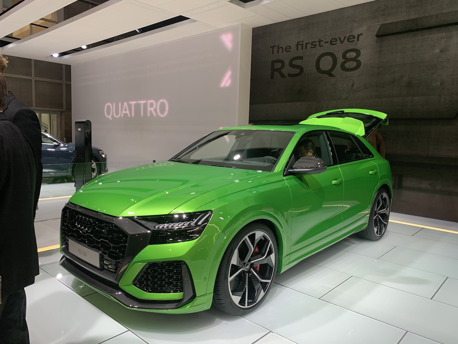 RS Q8 front three quarter