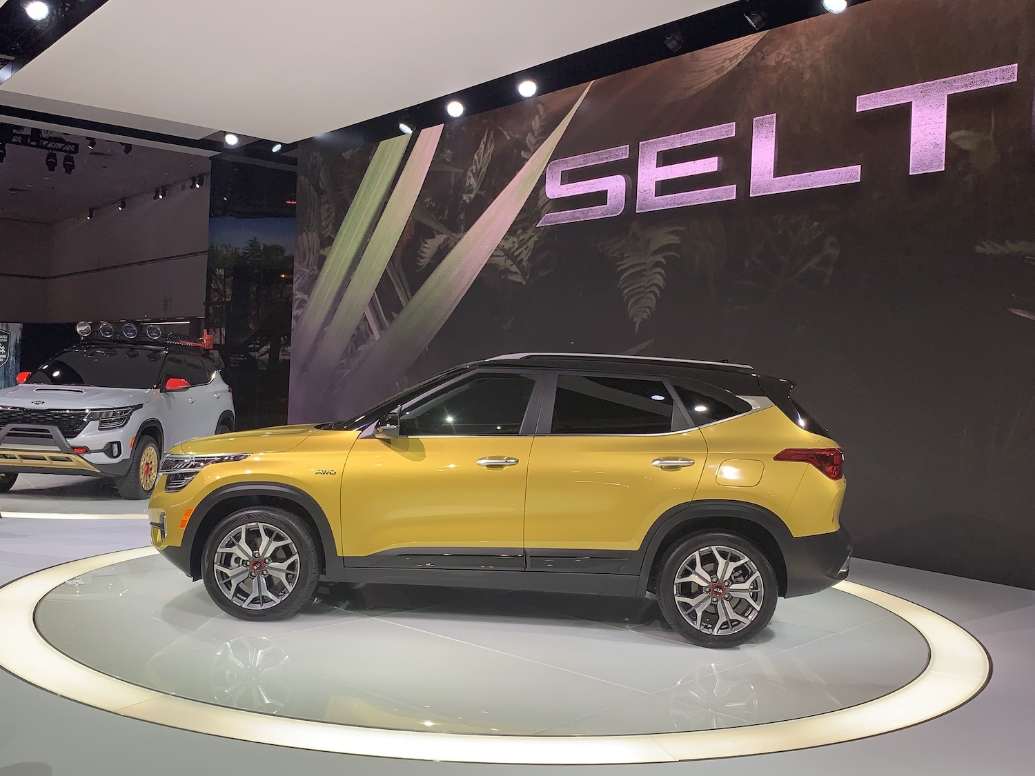 2021 Seltos side profile
