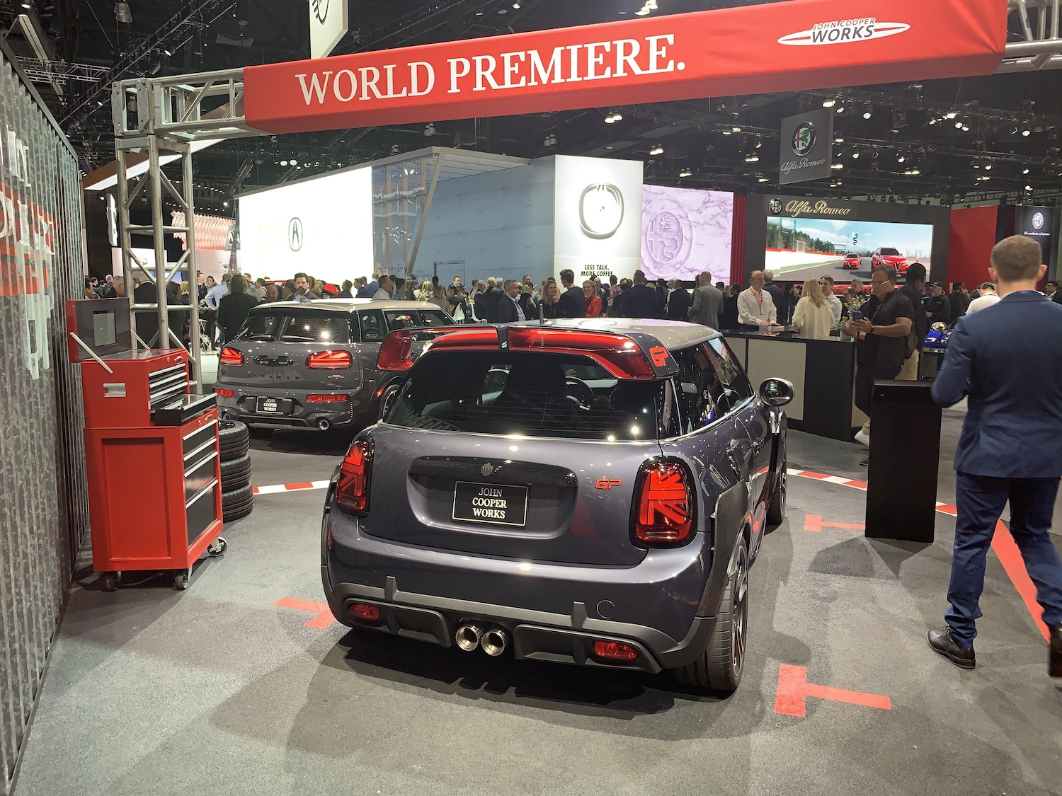 John Cooper Works GP mini rear