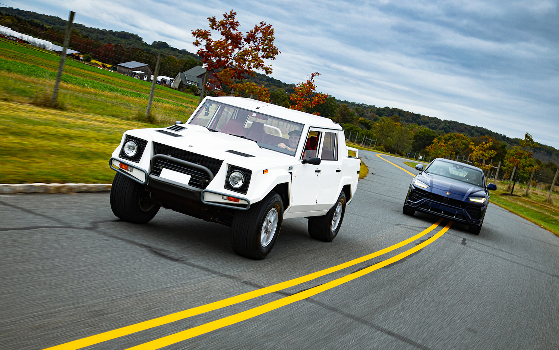 Lamborghini Urus and LM002