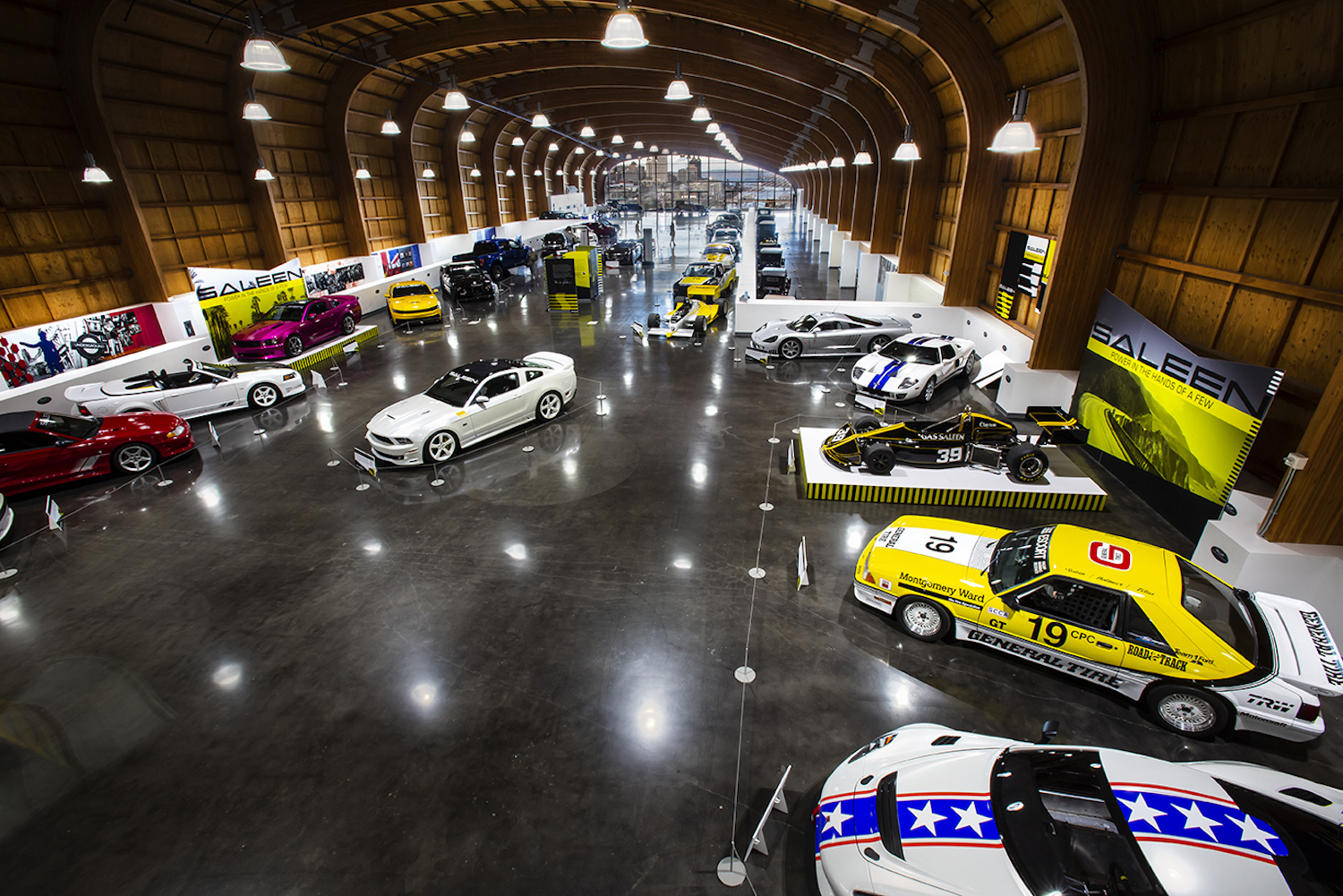LeMay Museum Saleen Exhibit