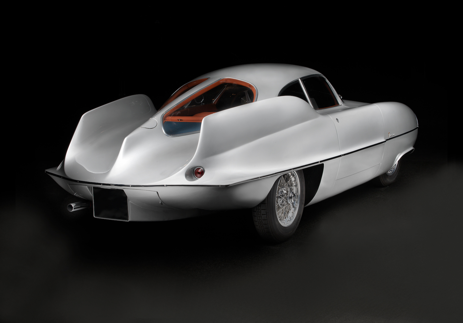 alfa romeo bat car rear