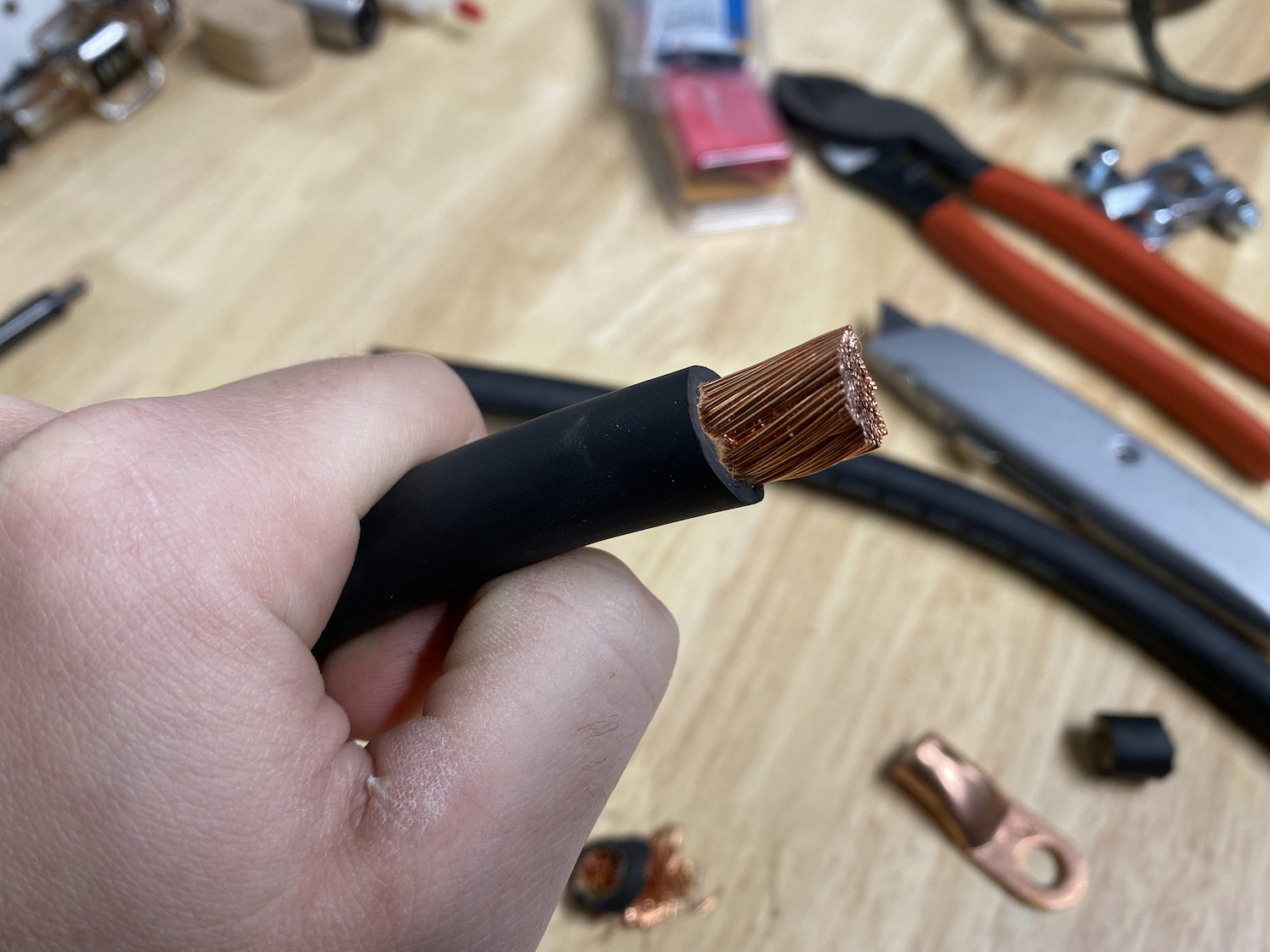 diy battery cables