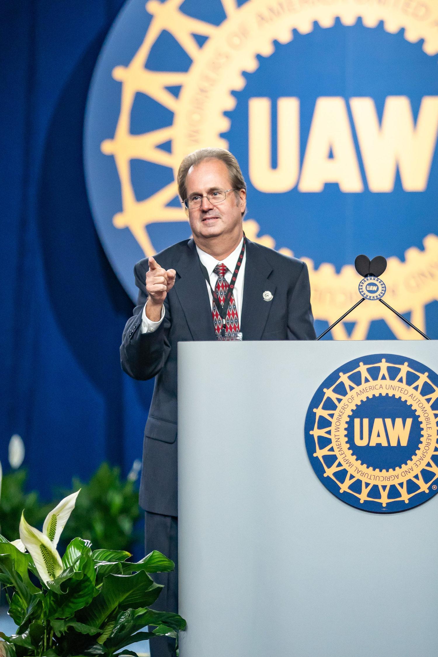 former uaw president gary jones